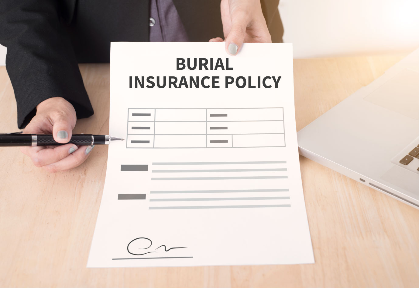 burial insurance policy